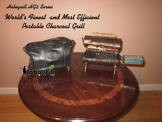 World's Finest and Most Portable Charcoal Grill.