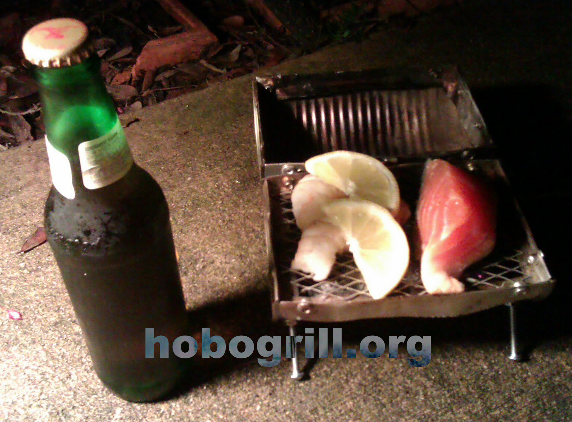 hobogrill.org world's smallest portable grill